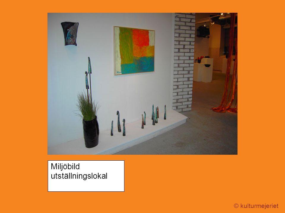 © kulturmejeriet Miljöbild utställningslokal