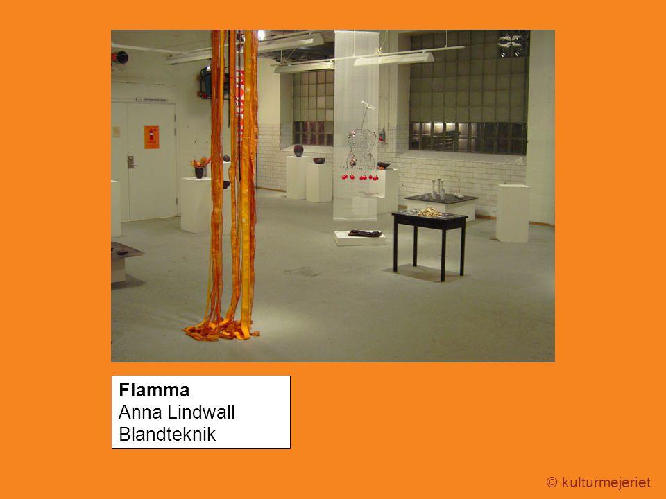 © kulturmejeriet Flamma Anna Lindwall Blandteknik