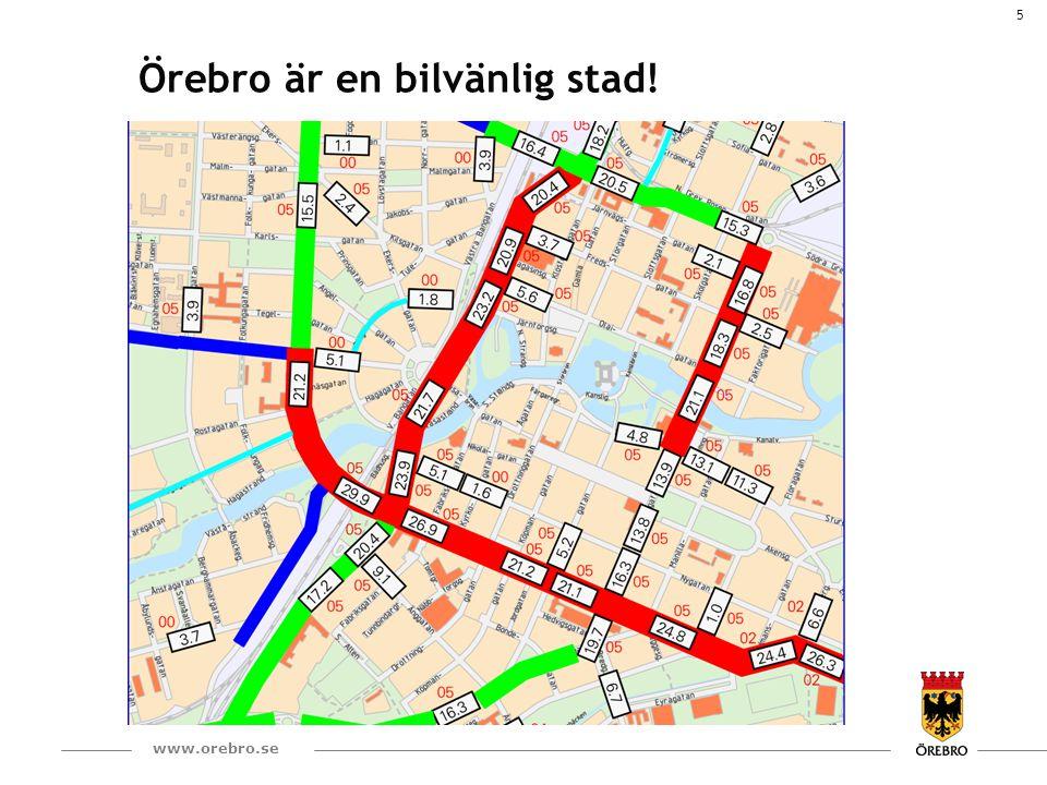 6 www.orebro.se Omlokalisering av alla bostadsfastigheter byggda i Örebro tätort efter 1960