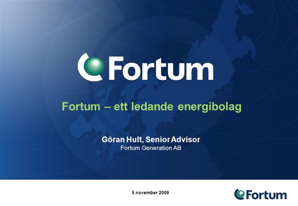 2 Dagens upplägg 1.Kort om Fortum – vad vi gör och vilka marknader vi är verksamma på 2.Hur går det för energisektorn.