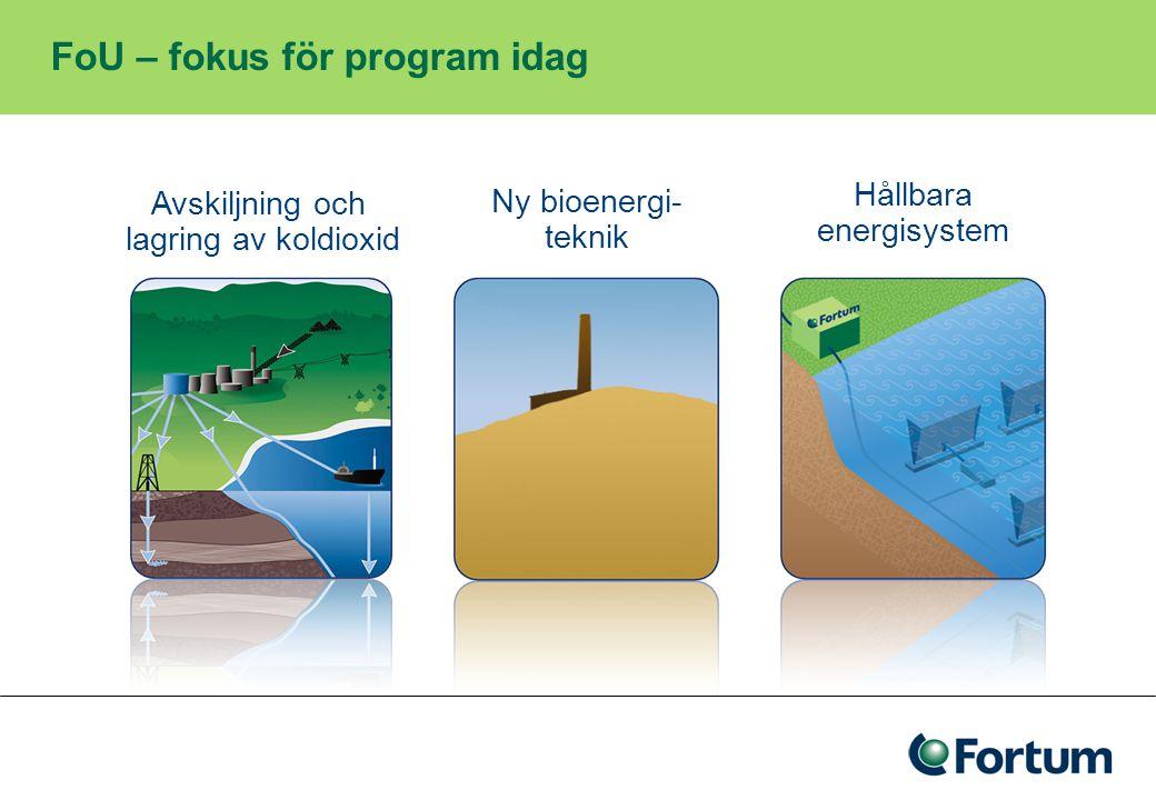 I jakt på framtiden energi – ett exempel Vågkraften Fortum är delägare i AW Energy Oy, som utvecklar WaveRoller – tekniken för bottenvågor relativt nära stranden Fortum är också medfinansiärer till Uppsala Universitets projekt utanför Lysekil, som utvecklar den linjära generatortekniken för ytvågor.