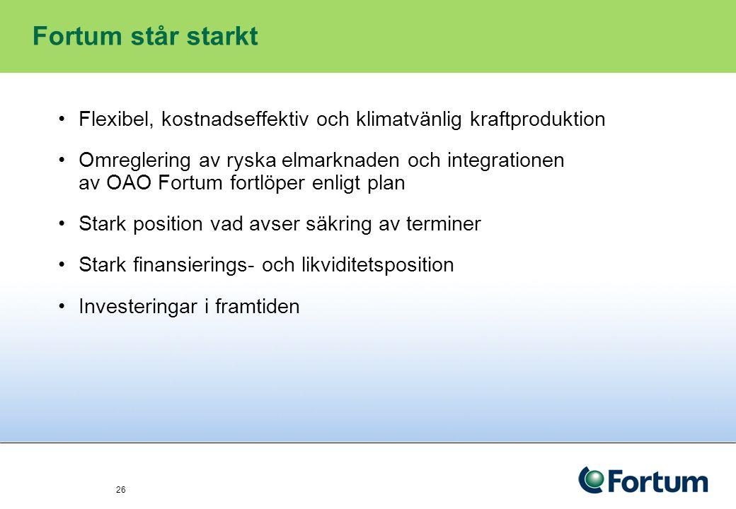 27 Dagens upplägg 1.Kort om Fortum – vad vi gör och vilka marknader vi är verksamma på 2.Hur går det för energisektorn.