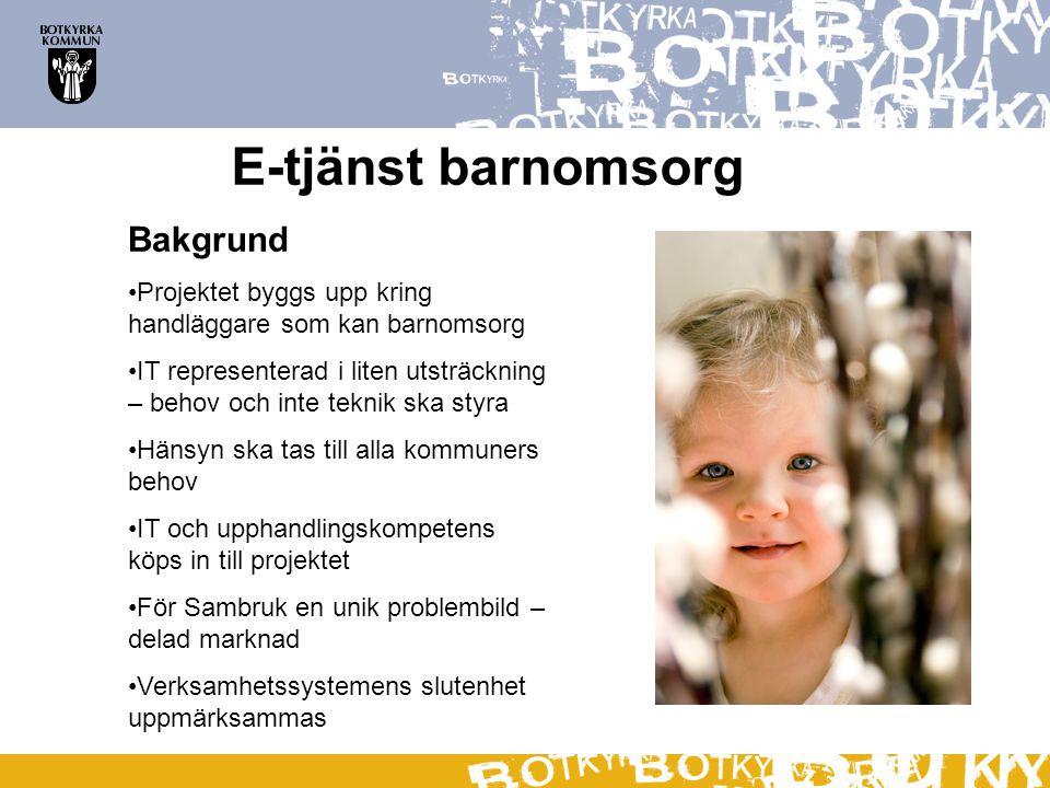 E-tjänst barnomsorg Vad säger leverantörerna.TietoEnator: Vi är ett integrationsföretag.