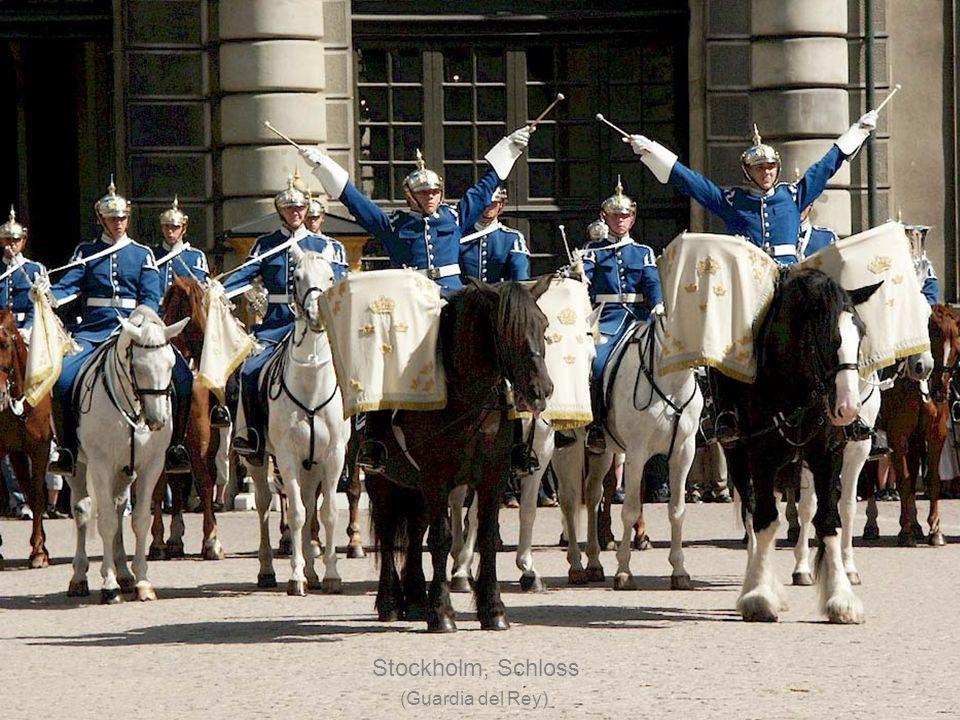 Stockholm, Schloss (Palacio Real)