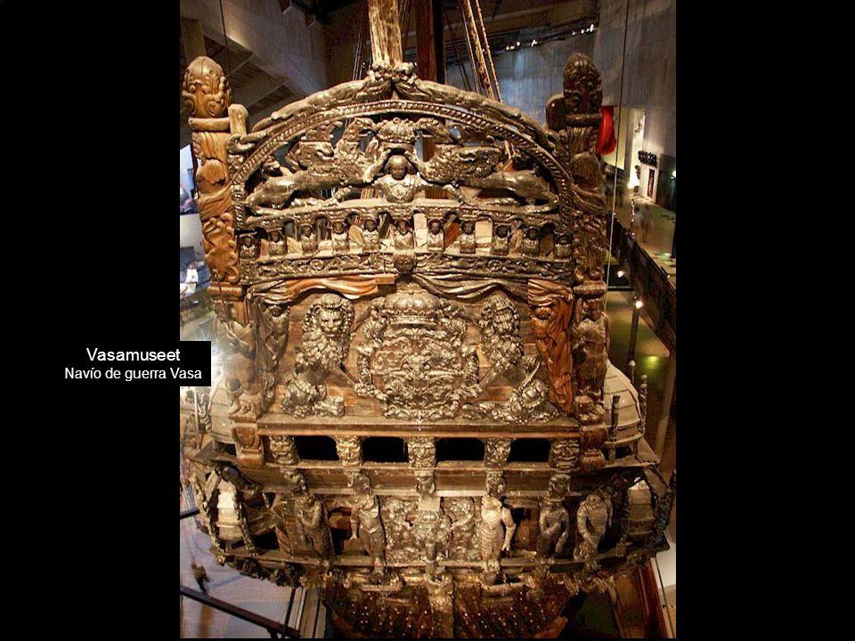Vasamuseet Navío de guerra Vasa