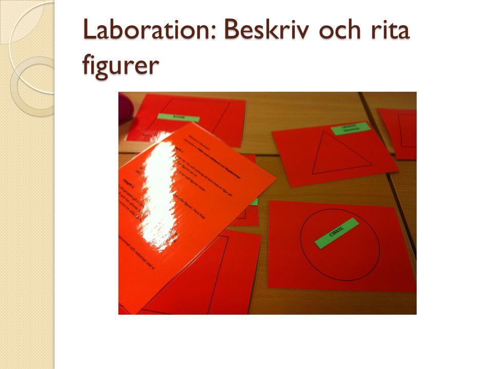 Laboration: Beskriv och rita figurer