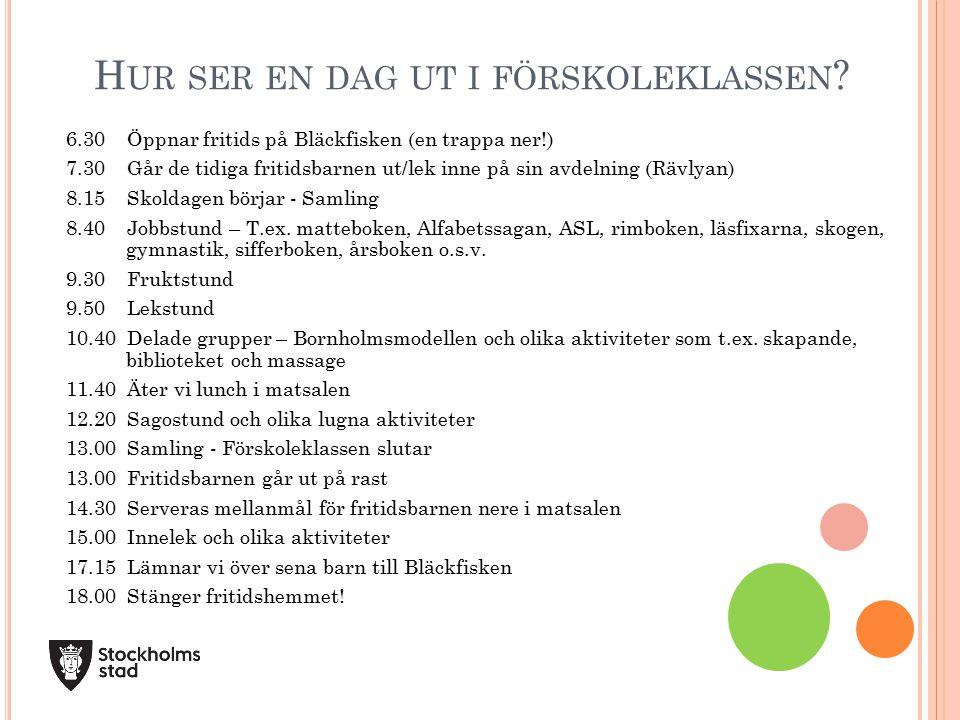 V I TRÄNAR PÅ...