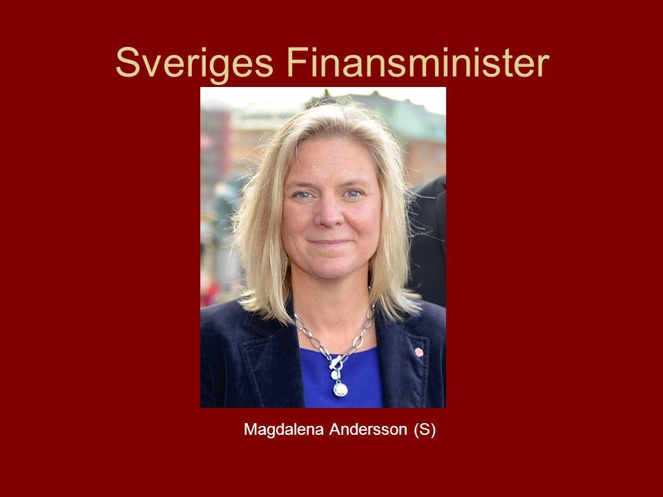 Sveriges Finansminister Magdalena Andersson (S)