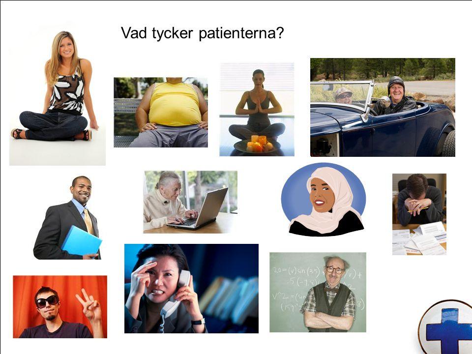 Vad tycker patienterna?