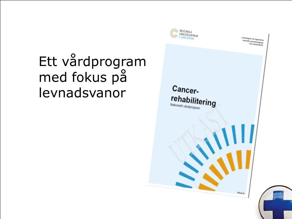 Ett vårdprogram med fokus på levnadsvanor