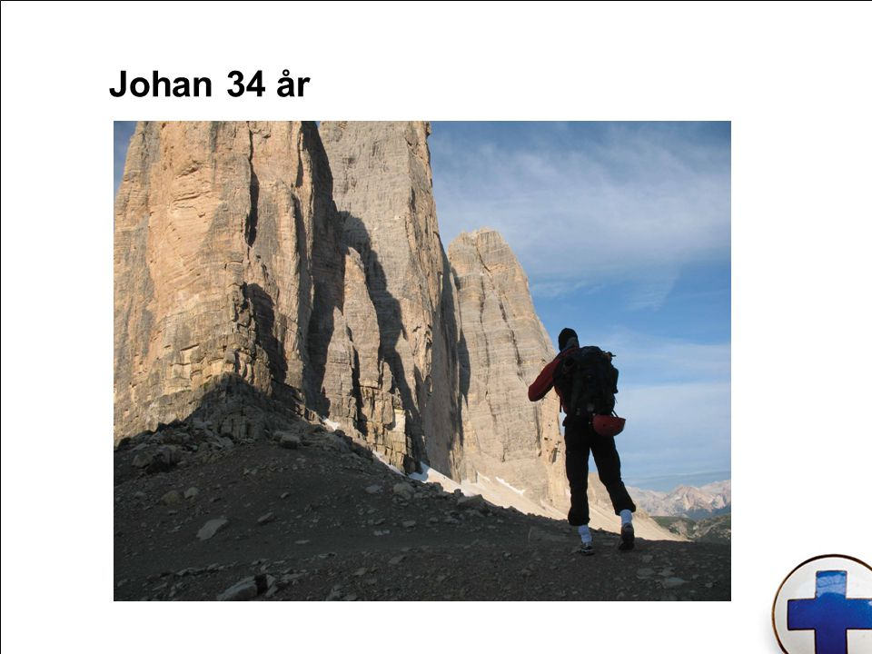 Johan 34 år