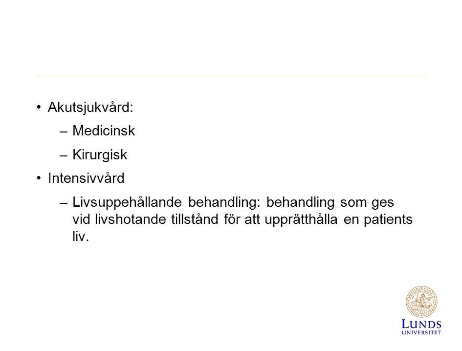 Svikt av vitala funktioner Identifiering och handläggning Vitala parametrar Sjuksköterskans roll