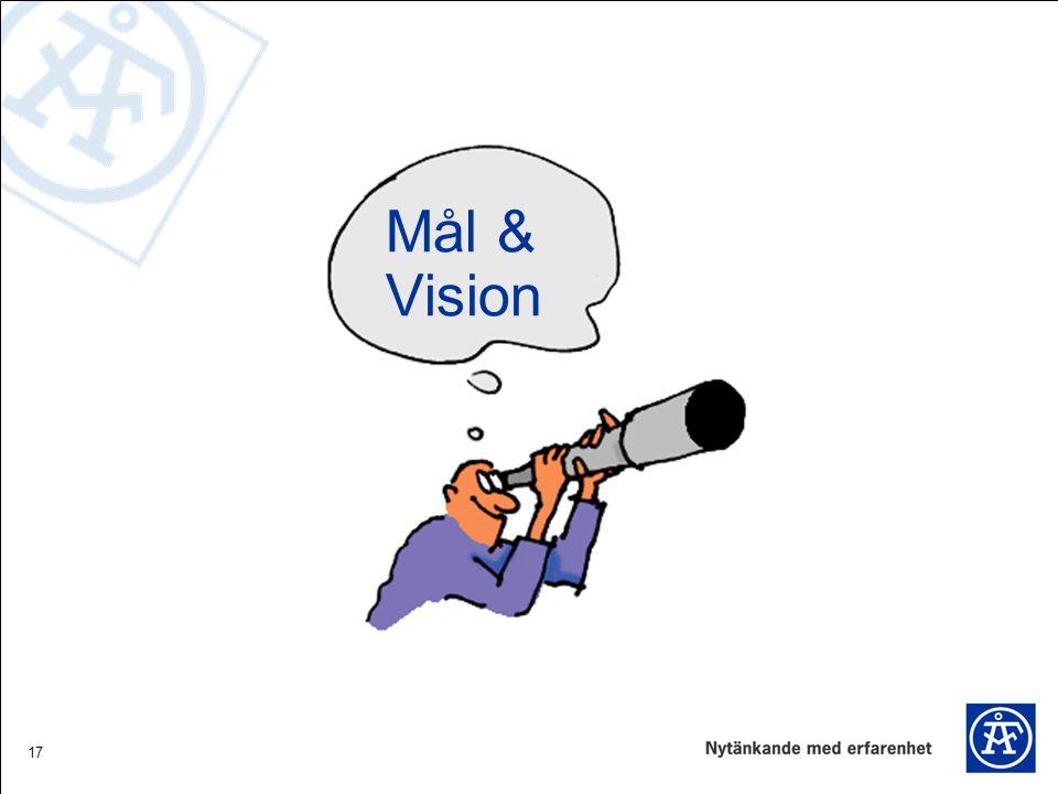 17 Mål & Vision