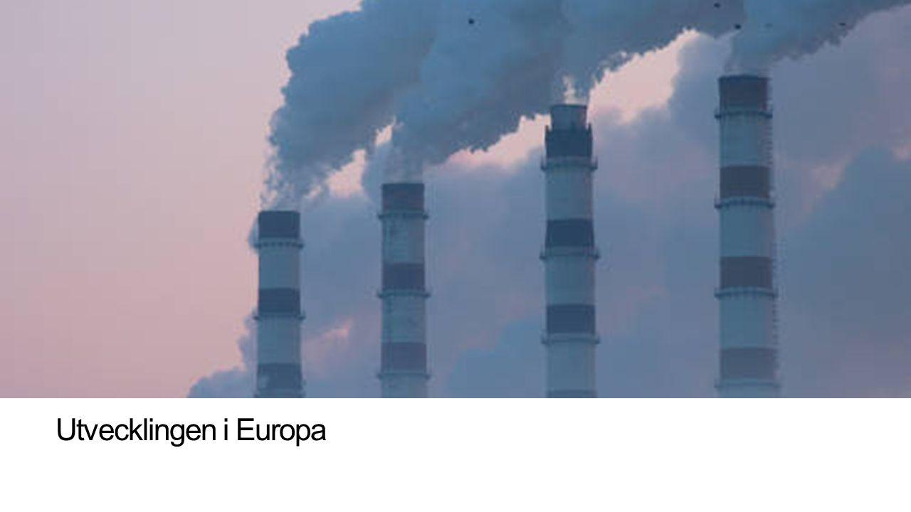 Utvecklingen i Europa