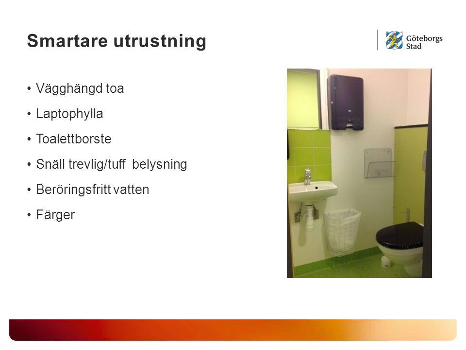 Smartare utrustning Vägghängd toa Laptophylla Toalettborste Snäll trevlig/tuff belysning Beröringsfritt vatten Färger