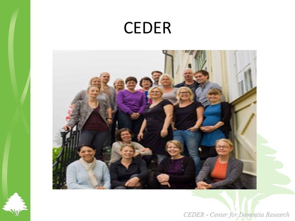 CEDER - Center for Dementia Research CEDER