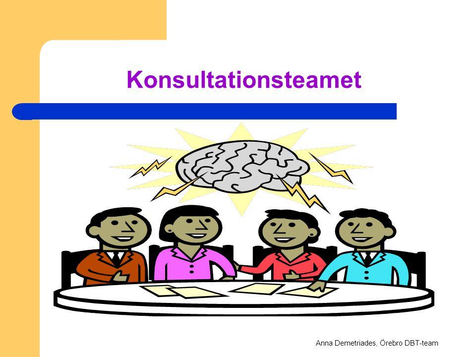 Konsultationsteamet Anna Demetriades, Örebro DBT-team