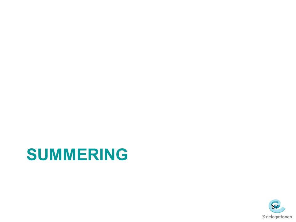 SUMMERING 67