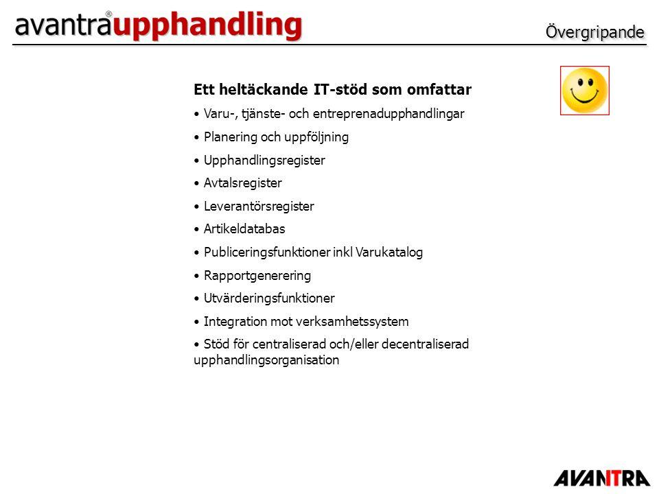 Behörighetssystem – Objekt och dokument Exempel på behörighet på en upphandling.