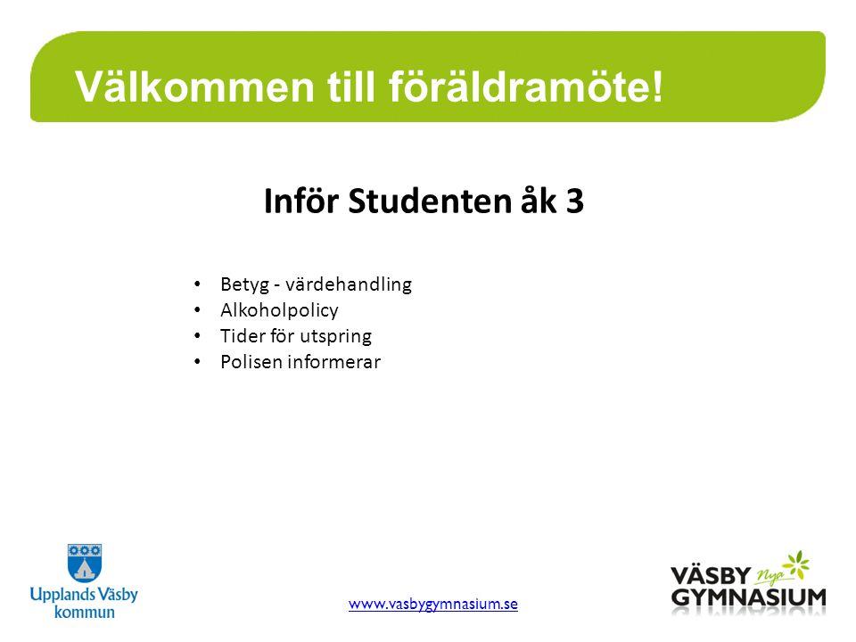 www.vasbygymnasium.se Välkommen till föräldramöte.