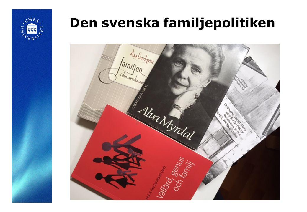 Den svenska familjepolitiken