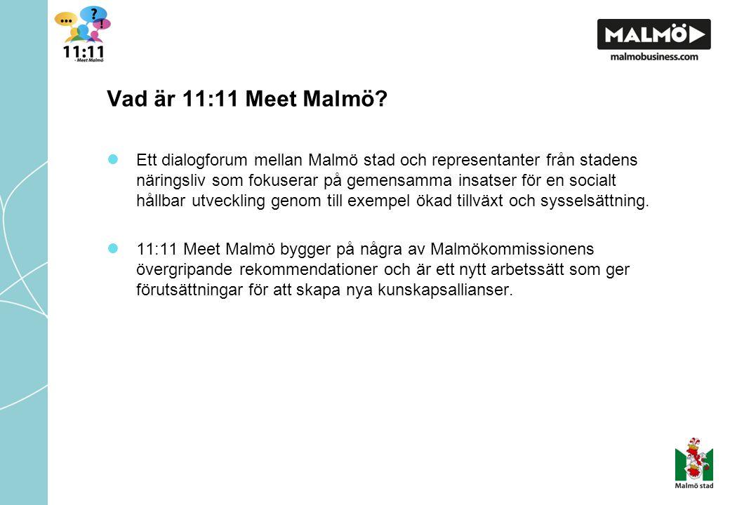 Vad är 11:11 Meet Malmö.