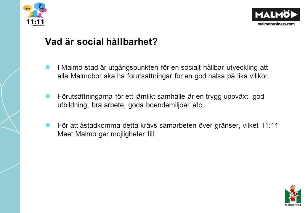 Vad är social hållbarhet.