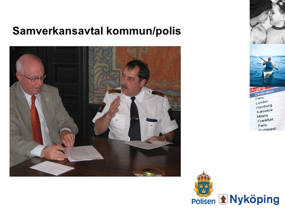 Samverkansavtal kommun/polis