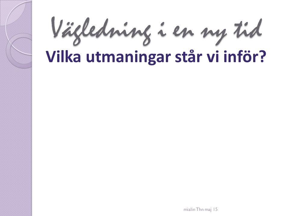 Mia Lindberg Min bakgrund Studie- och yrkesvägledarexamen Fil mag pedagogik Yrkesmässig handledning Kön och etnicitet Samtal och kommunikation Gruppvägledning och process Specialisering – nätbaserad kommunikation Arbetsmarknadsverket regionala och nationella projekt Arbetslivsinriktad rehab Nätuniversitetets myndighet (NSHU) Högskola Adjunkt, Malmö högskola Eget företag Privat anställd, Karriärförlaget Författare - Brytpunkter