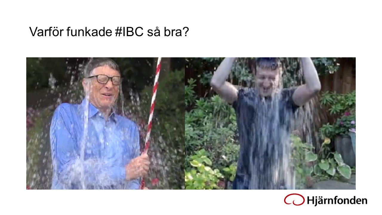 Varför funkade #IBC så bra