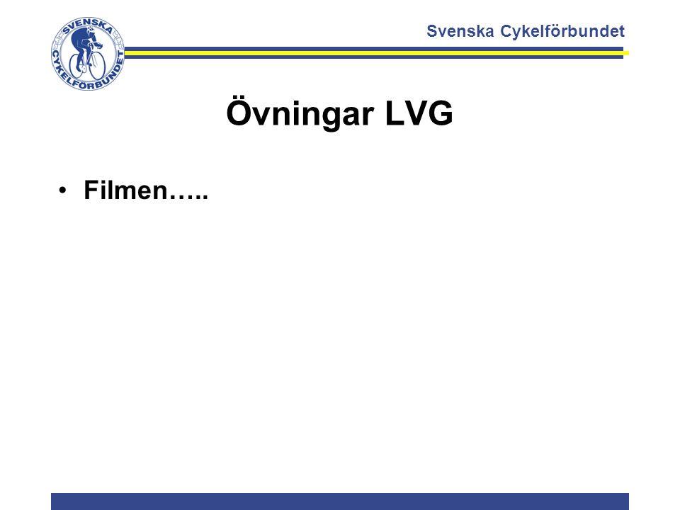 Svenska Cykelförbundet Övningar LVG Filmen…..