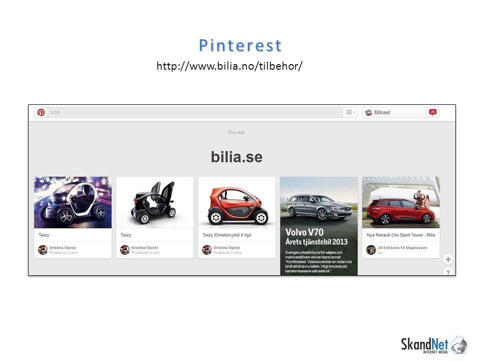 Pinterest http://www.bilia.no/tilbehor/