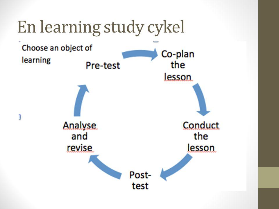 Lärandeobjekt Tvådelat, både innehåll och förmågan.