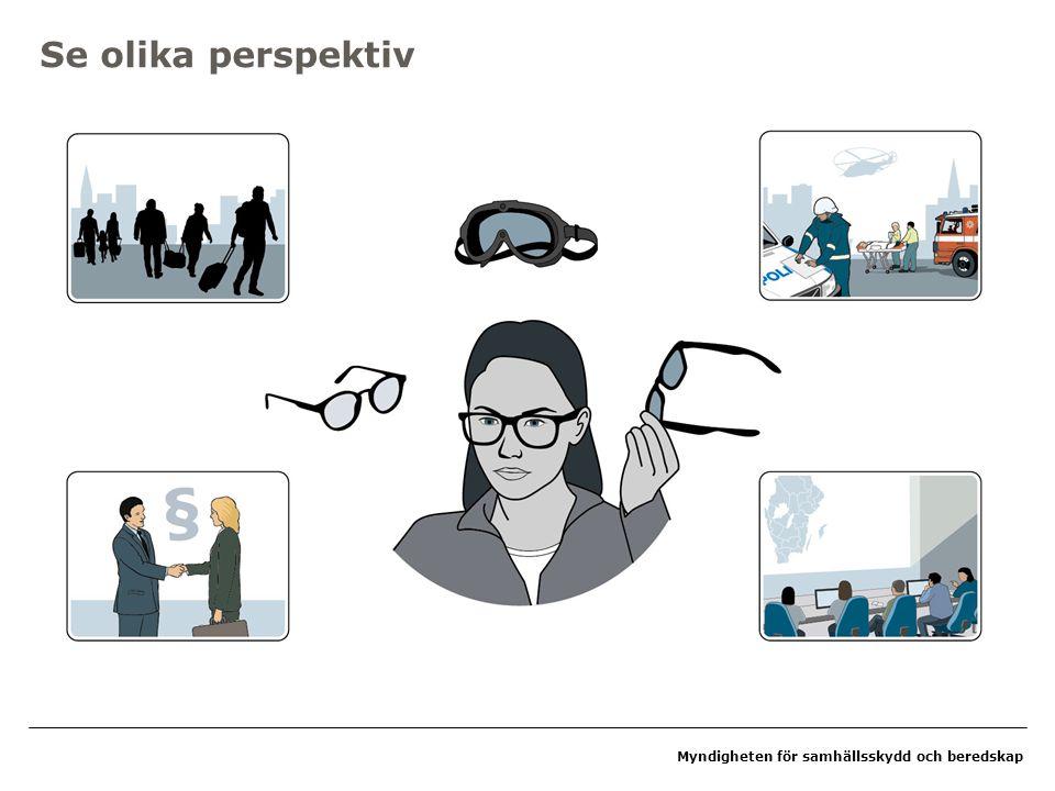 Myndigheten för samhällsskydd och beredskap Se olika perspektiv