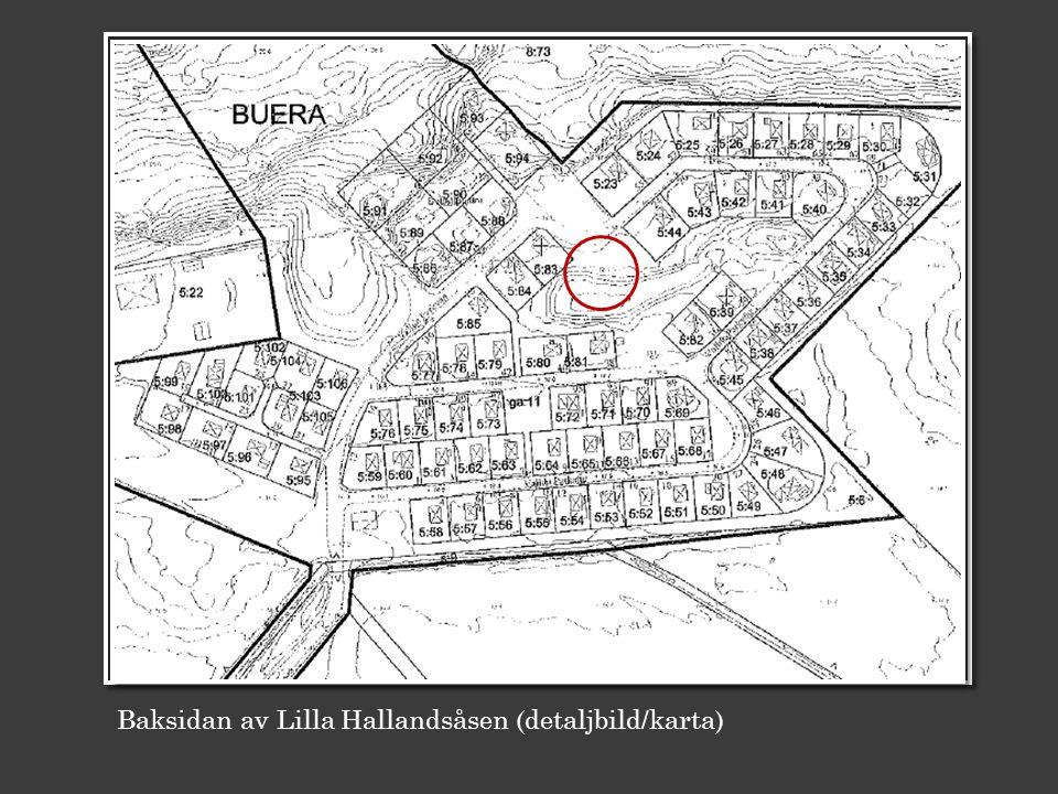 Baksidan av Lilla Hallandsåsen (detaljbild/karta) C