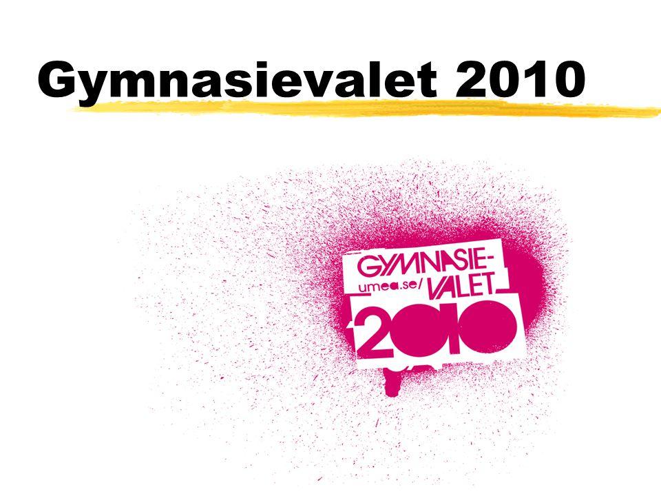 Gymnasievalet 2010