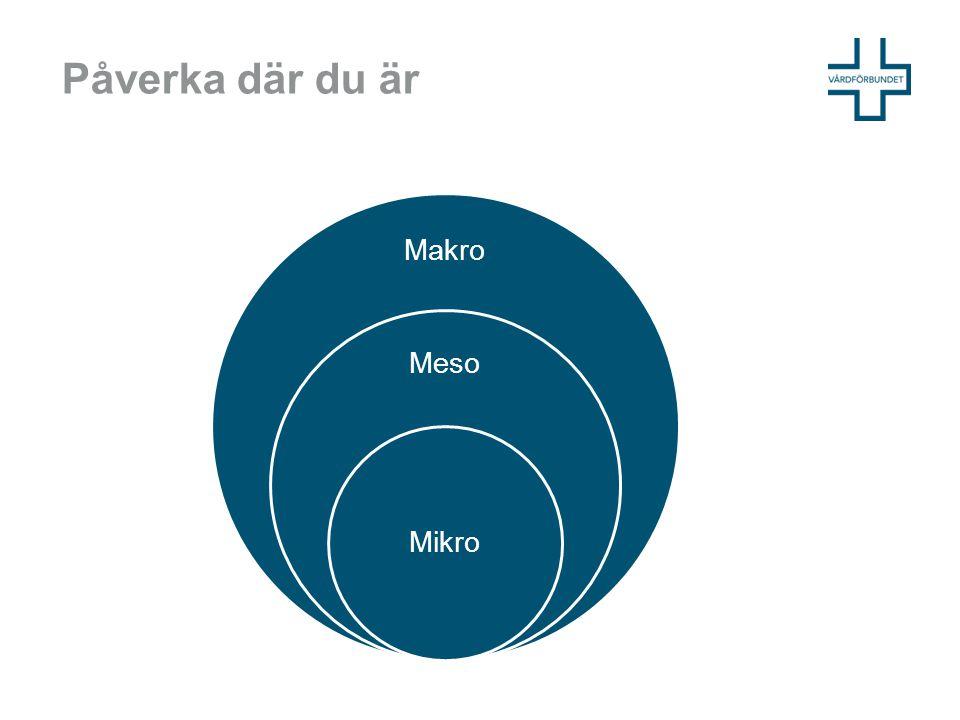 Påverka där du är Makro Meso Mikro