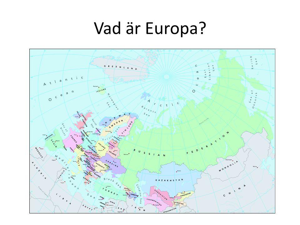 Vad är Europa?