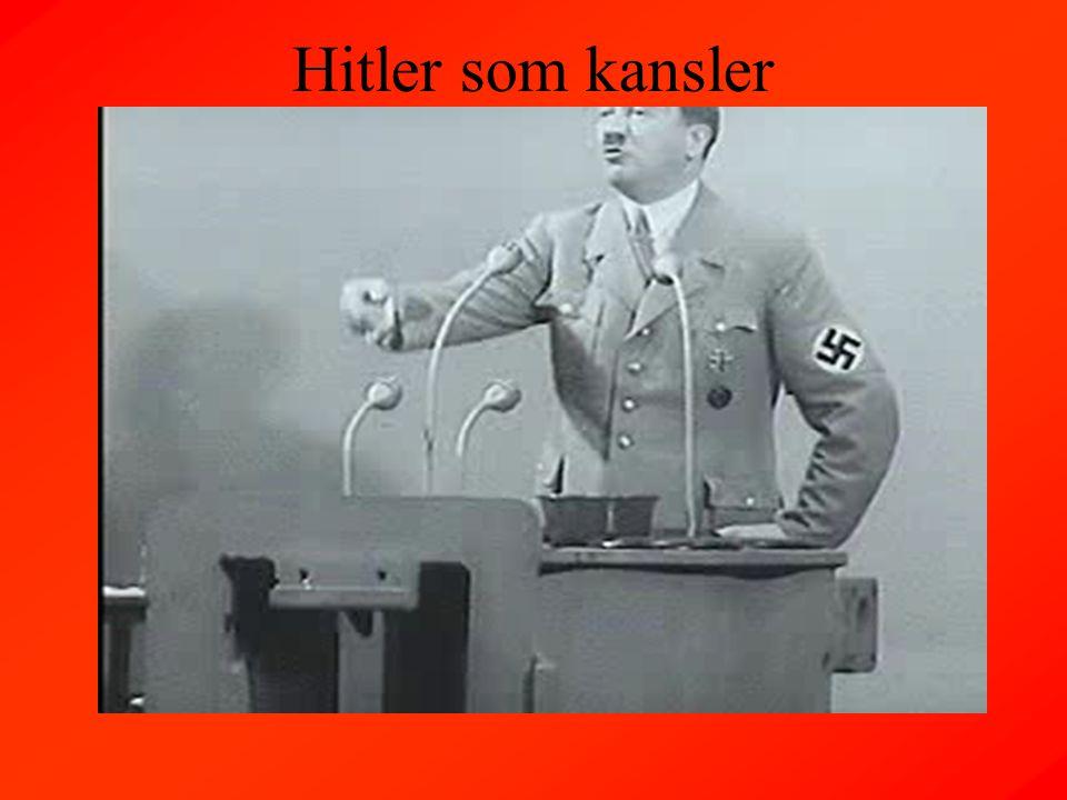 Hitler som kansler