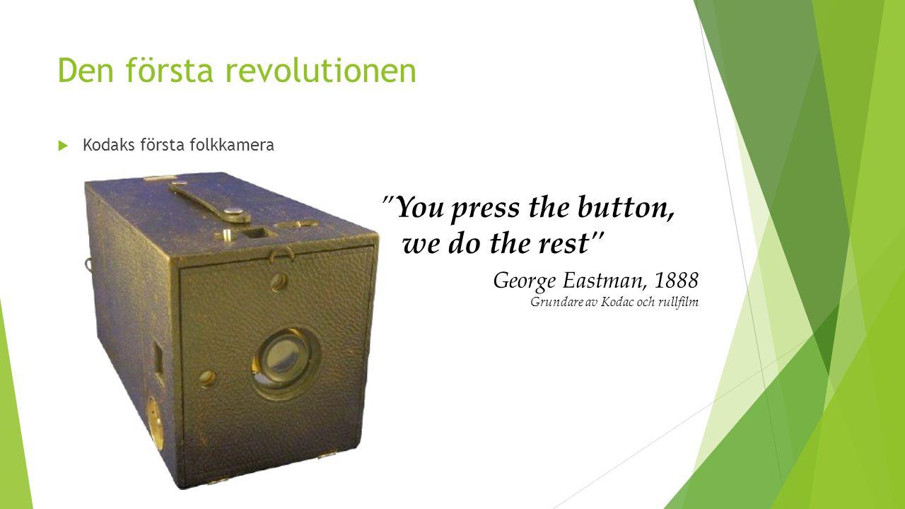 Den andra revolutionen  Kodaks andra folkkamera 1960-tal