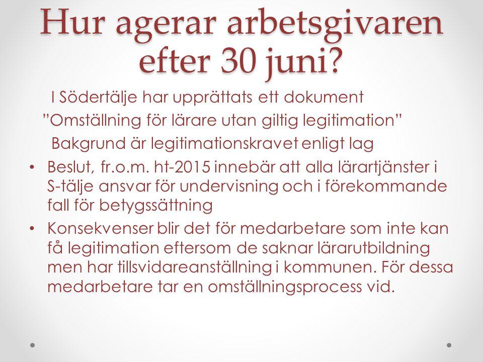 Bra adresser och kostnader Lararforbundet.se/legitimation Ombudsman Ann-Christine Larsson Lärarförbundets sakkunniga Regeringens hemsida Skolverkets upplysningstjänst tel.