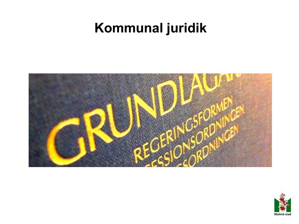 Kommunal juridik