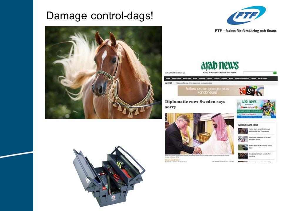 Damage control-dags!