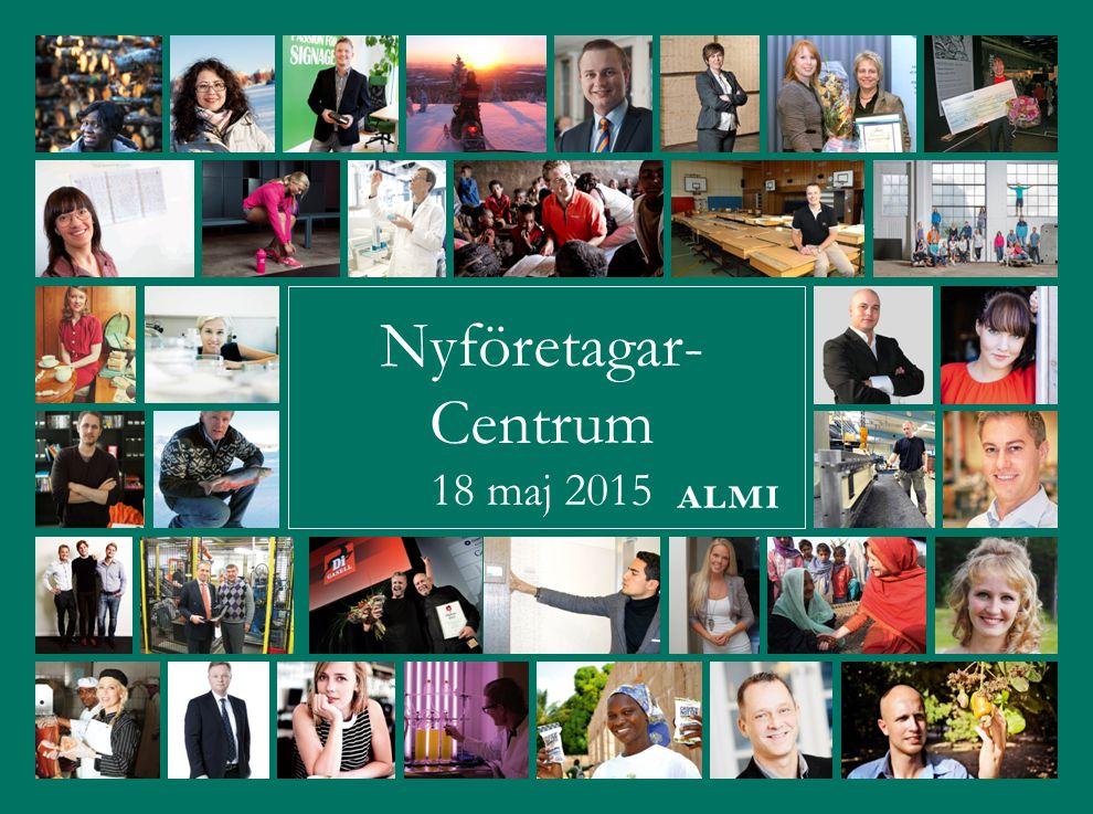 Nyföretagar- Centrum 18 maj 2015