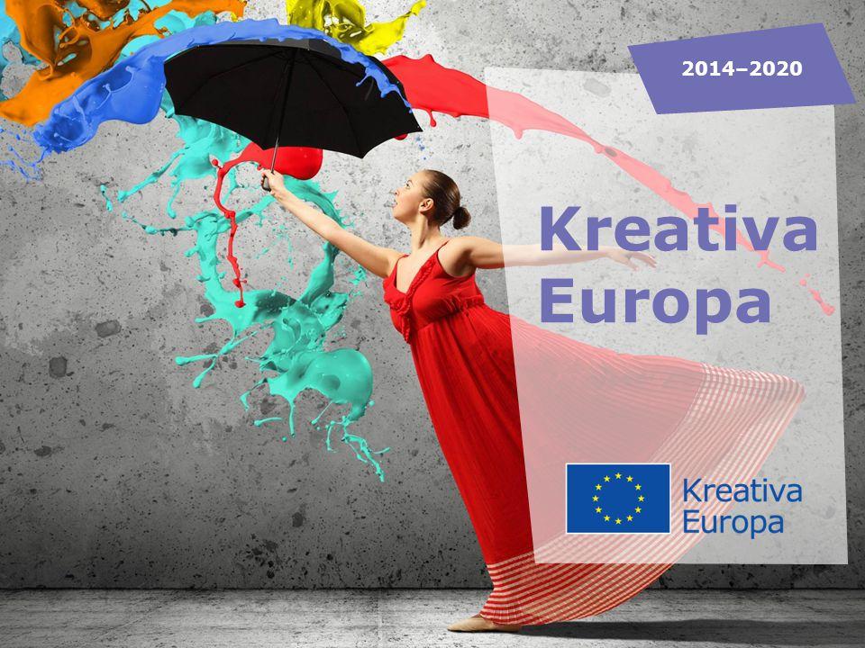 KREATIVA EUROPA DESK Kulturrådet och Filminstitutet delar på uppdraget som nationell kontaktpunkt Informerar om EU:s program Kreativa Europa Rådger sökande i ansökningsprocessen Bevakar kulturfrågor inom EU