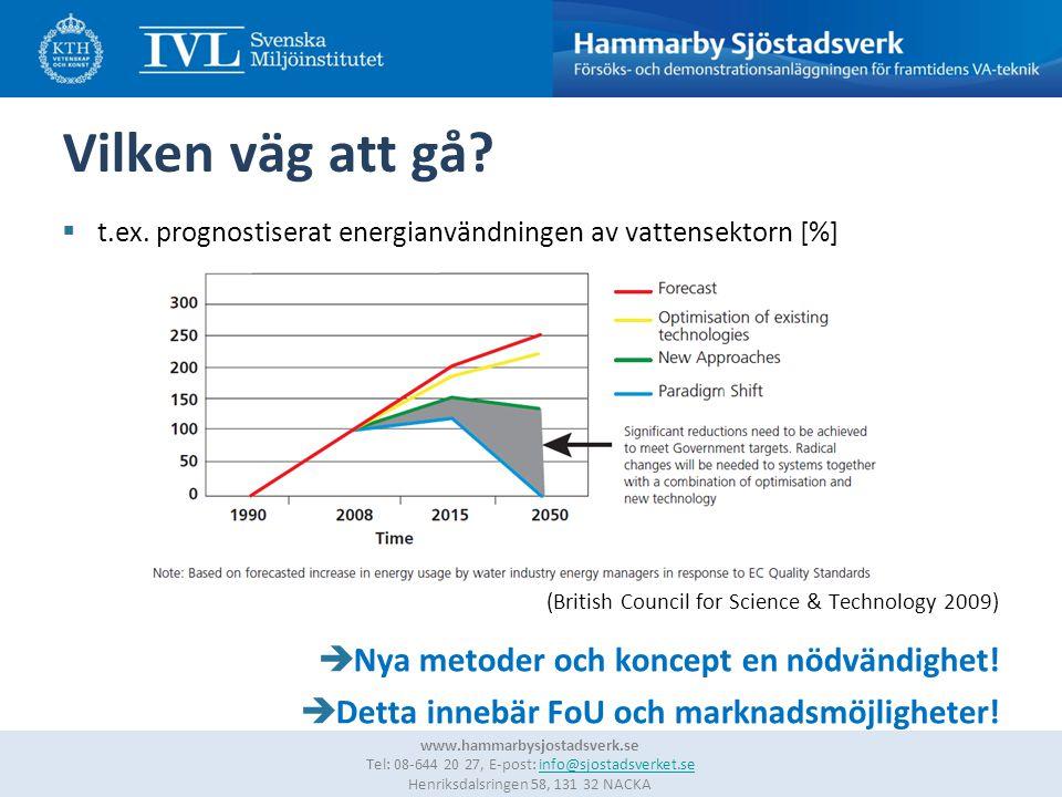 6 www.hammarbysjostadsverk.se Tel: 08-644 20 27, E-post: info@sjostadsverket.se Henriksdalsringen 58, 131 32 NACKAinfo@sjostadsverket.se Vilken teknik/metodik.