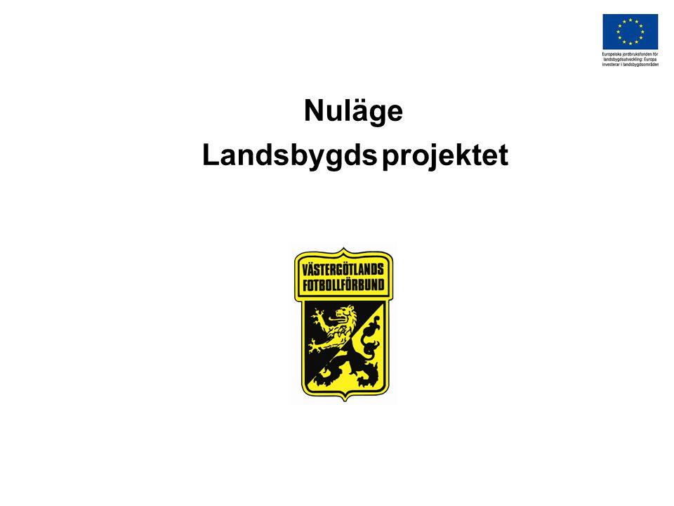 Nuläge Landsbygds projektet
