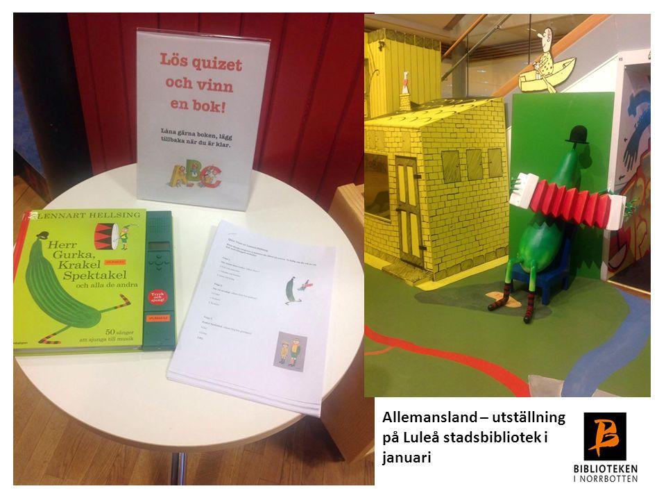Arbete och utbildning av verktygen Twinningsamarbete etableras Konferens/seminarium Kommunikationsarbete Utbildning i verktyget för bibliotekspersonal Läsfrämjandeplaner Skapa nätverk och samverkan med regionala partners År 1 hösten 2015 - våren 2016