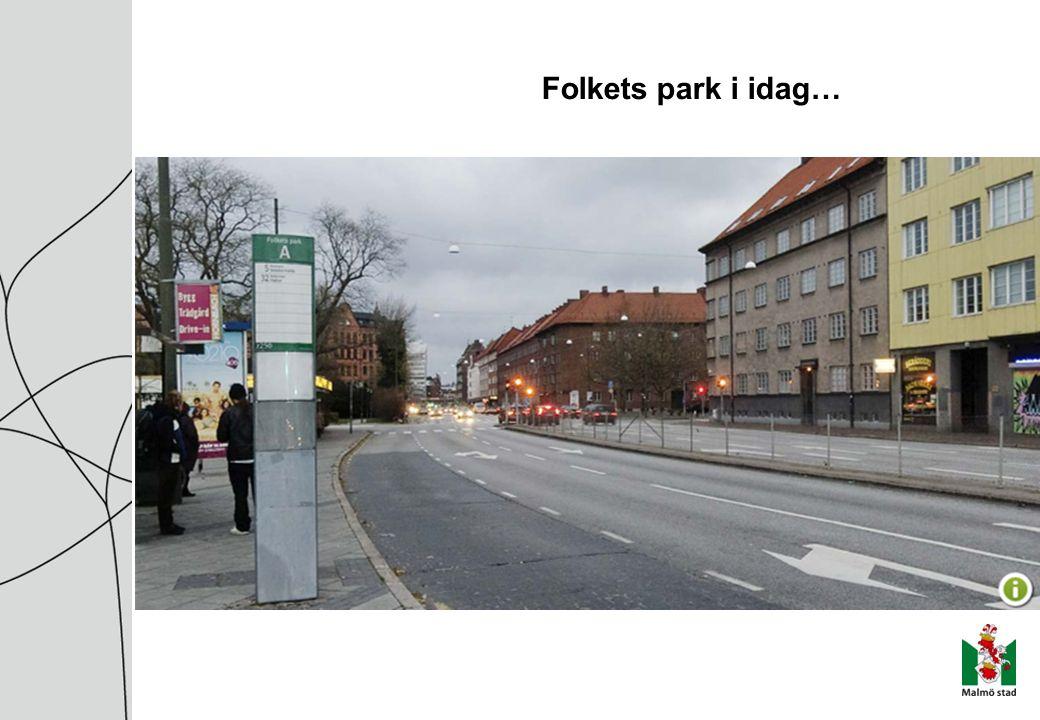Folkets park i idag…