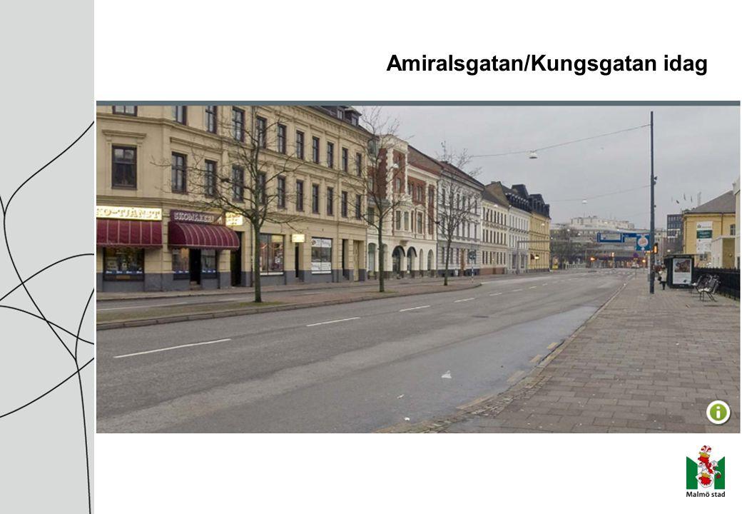 Amiralsgatan/Kungsgatan idag